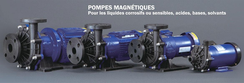 Pompe centrifuges couplage magnétique